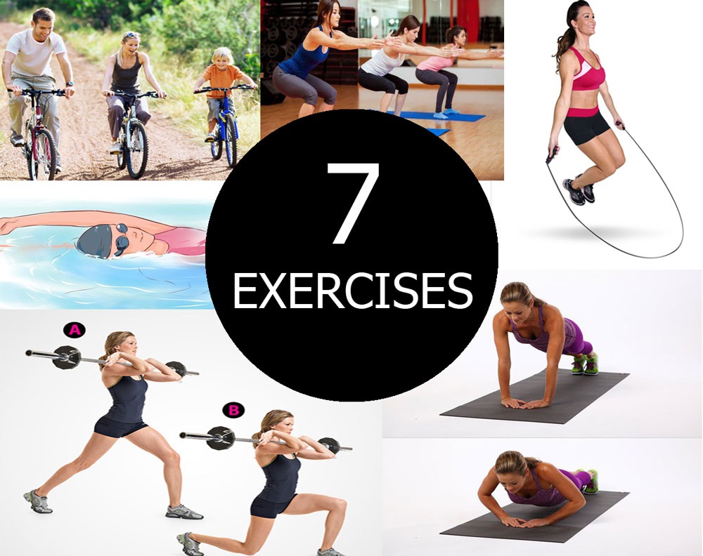 7 Exercises That Help You to Transform Your Body